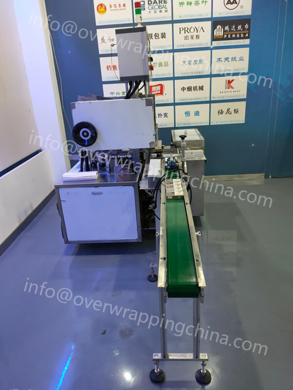 Cartoning Machine for Hookah Tobacco Packs